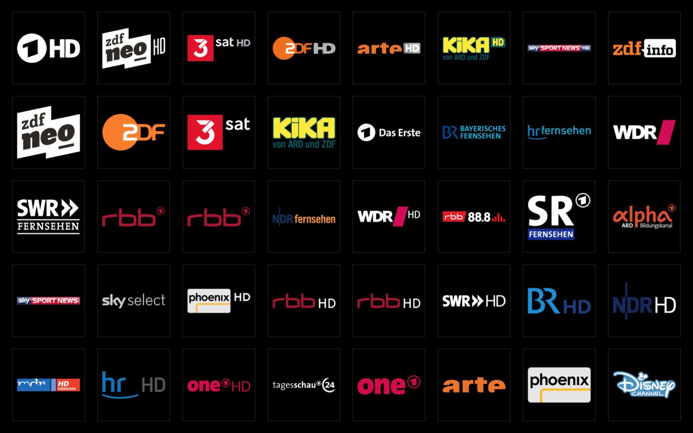 Picons Hell TV-Senderlogos DVB-C